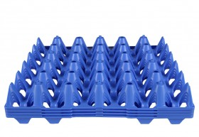 Egg trays plastic - smart logistic system solution - optimal egg protection